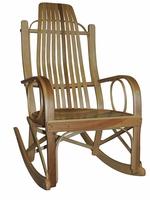 Amish Bentwood Solid Hard Maple rocking chair
