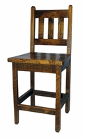 "Rustic Barnwood 24"" Bar Stool"