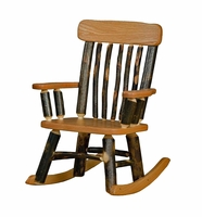 Rustic Furniture Rocking Chair for a Child