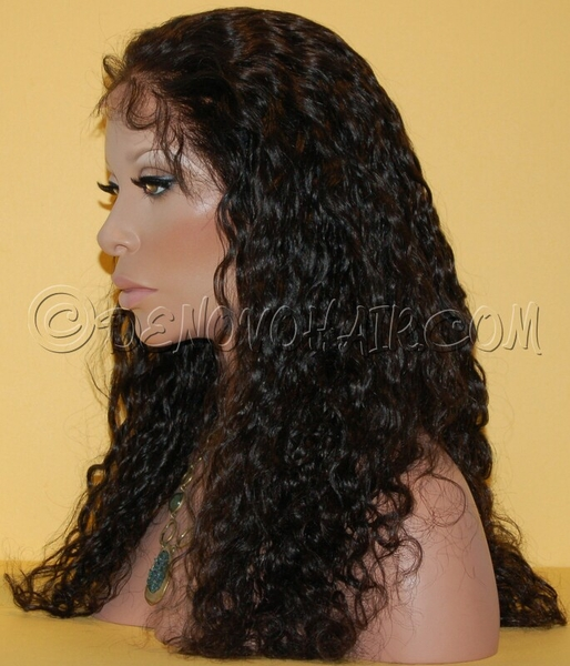 Curly Wavy Lace Wig 106