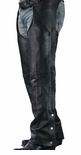 Men Motocycle Leather Chaps