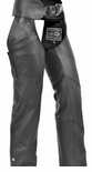 Women Motocycle  Leather Chaps
