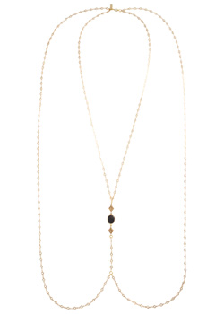 2015 Vanessa Mooney Accessories<br>The Nina Gold Bodychain