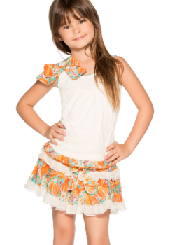 Agua Bendita Kids Swimwear<br>Bendito Jazmin Shirt