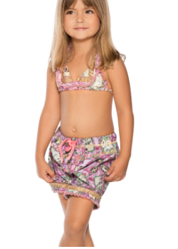 Agua Bendita Kids Swimwear<br>Bendito Opera Shorts