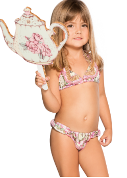 Agua Bendita Kids Swimwear<br>Bendito Poema Swimsuit