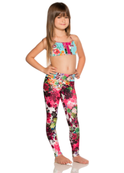 Agua Bendita Kids Swimwear<br>Bendito Rosa Leggings