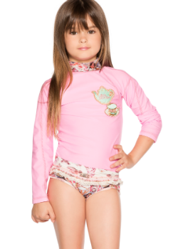 Agua Bendita Kids Swimwear<br>Bendito Te Rash Guard