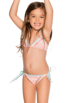 Agua Bendita Kids Swimwear<br>Bendito Trendy Bikini