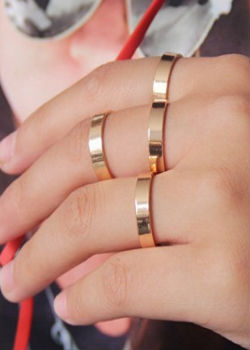 Amor Finger Rings