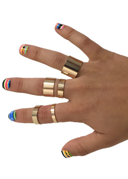 Armor Knuckle Ring
