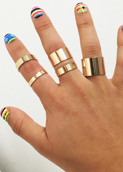 CB Jewelry<br>Brooke Knucle Ring
