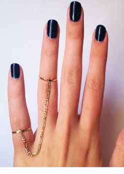 Armor Tassel Double Ring