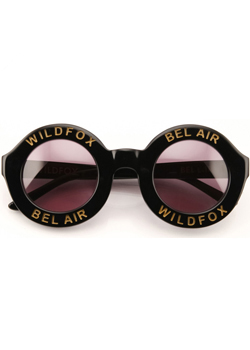 2015 Wildfox<br>Bel Air Black Sunglasses