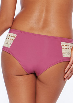 L*Space Swimwear<br>Boho Boysenberry Bottom