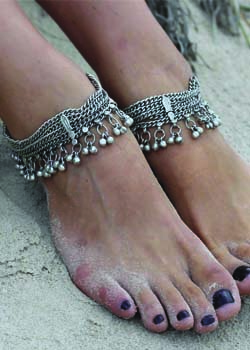 Forever Soles<br>Eastern Moon Antique Anklet