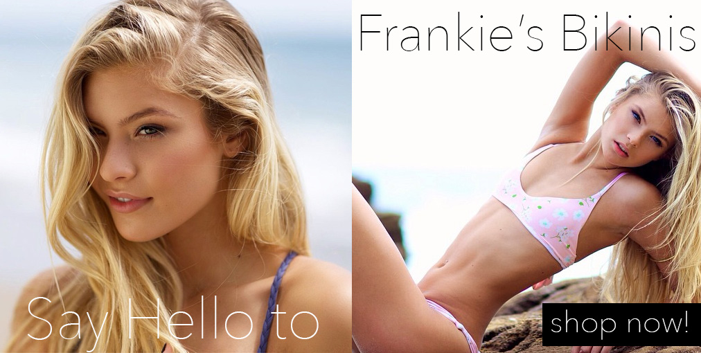 Frankies Bikinis, New Frankies Bikinis, Shop Frankies Bikinis by Francesca Aiello