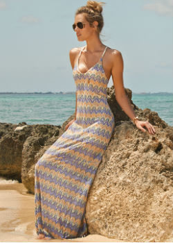 L*Space Swimwear<br>Sunchaser Maxi Dress