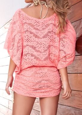 Delicia Crochet South Beach Dress