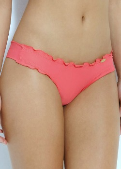 Luli Fama Swimwear<br>Full Coverage Bottom in Coralicious