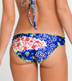 Luli Fama Swimwear<br>Spanish Lullaby Full Ruched Bottom