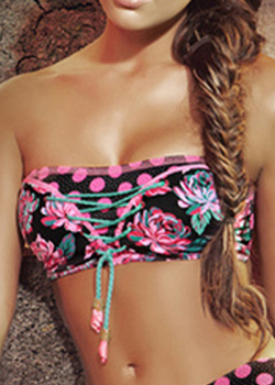 Paradizia<br>Moon Light Bandeau Top