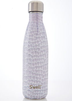 Swell Water Bottle<br>Blanc Crocodile 17oz Bottle