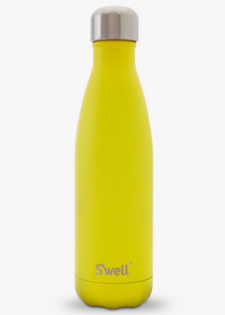 Swell Water Bottle<br>Yellow Zinc 17 oz Bottle