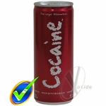 Cocaine Energy Drink - 8.4 oz. - Case of 12 Cans