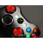 XCM Supreme wireless Xbox shell (Chrome/Red)