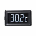 XSPC LCD Temperature Display (Black/White) V2 + Flat Sensor