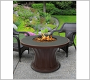 Rodeo Chat Fire Pit Brown