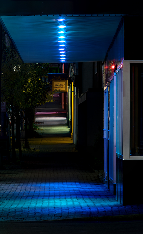 Night Sidewalk