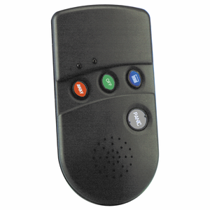 Honeywell 5804BDV Wireless Bidirectional Talking, Remote Alarm Keyfob (4-Buttons)