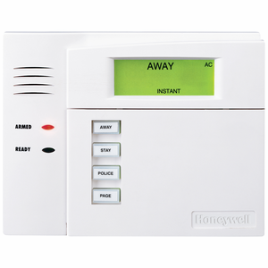 Honeywell 6150RF Fixed-English Wired Alarm Keypad w/Integrated 16-Zone Wireless Receiver