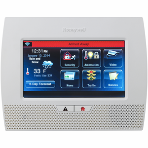 Honeywell LYNX Touch L7000 Wireless Touchscreen Alarm Control Panel