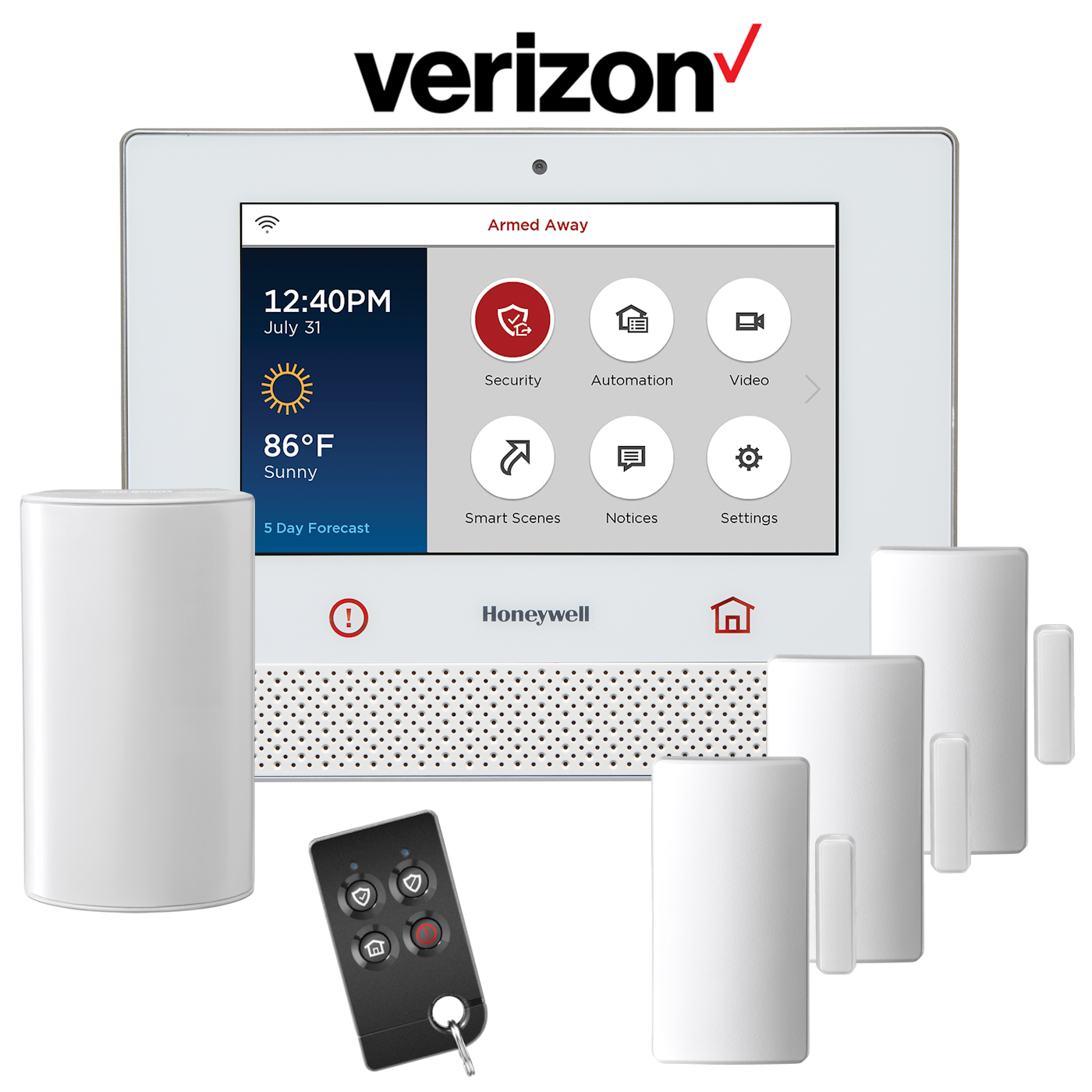 Home Security Systems Your Verizon Wireless Home Phone Connect may not be compatible with certain Home Security systems. Please check with your security system provider to confirm the compatibility requirements of your Home Security system. Other Incompatibilities Additional incompatibilities for the Home Phone Connect device include.