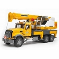 Construction Vehicle - MACK GRANITE LIEBHERR CRANE TRUCK