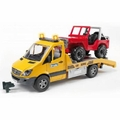 Bruder Toys 02535 - MERCEDES BENZ SPRINTER WITH CROSS COUNTRY VEHICLE