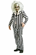Beetlejuice Striped Suit Costume