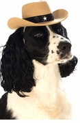 Brown Cowboy Hat for Pets