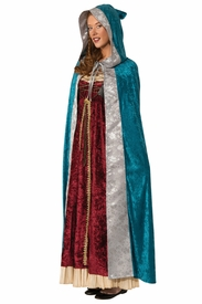 Camelot Adult Cloak Hooded Cape - click to enlarge