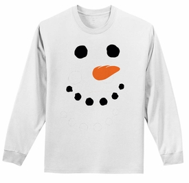Long Sleeve Snowman T-shirt - click to enlarge