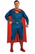 Plus Size Superman Man of Steel Adult Costume