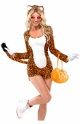 Sexy Cheeky Cheetah Womens Adult Costume