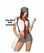 Sexy Newspaper Girl Costume