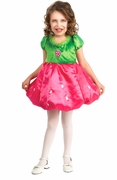 Strawberry Dress Child Costume