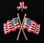 Patriotic Irish and Flag Pin Special!