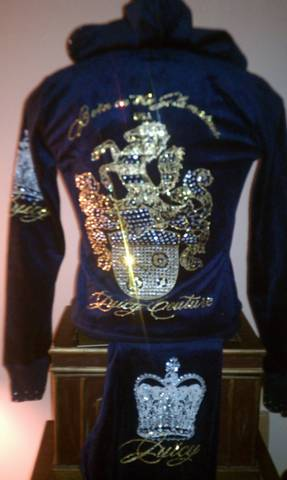 Custom Juicy Couture TrackSuit