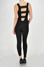Elastic Band Bodysuit Jumpsuit